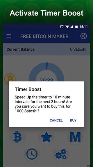 Free Bitcoin Miner: Earn BTC скриншот 3