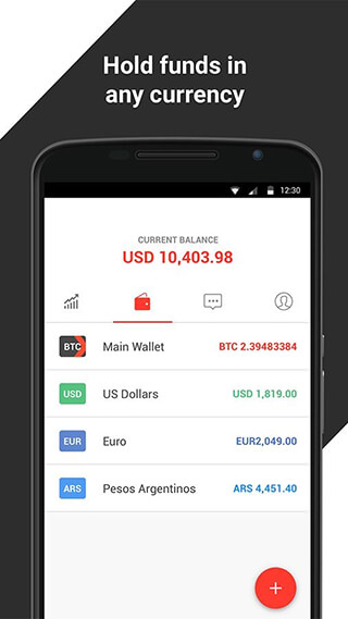 Xapo: Bitcoin Wallet and Vault скриншот 3