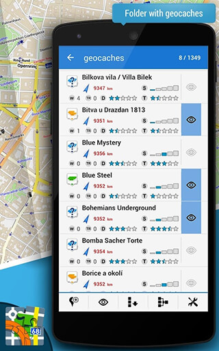 Locus Map Free: Outdoor GPS Navigation and Maps скриншот 3