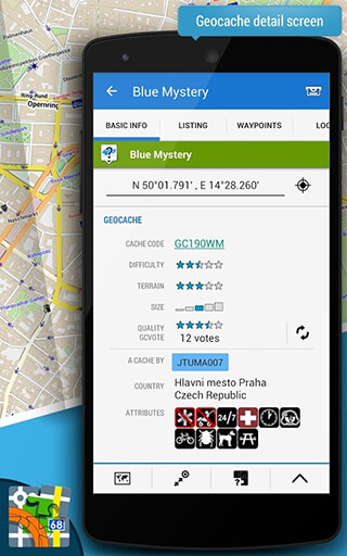 Locus Map Free: Outdoor GPS Navigation and Maps скриншот 4