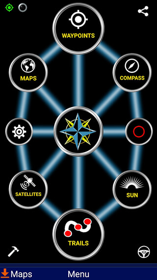Polaris GPS Navigation скриншот 1