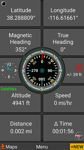 Polaris GPS Navigation скриншот 2