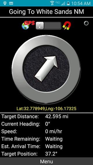 Polaris GPS Navigation скриншот 4