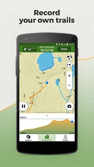 Wikiloc Outdoor Navigation GPS скриншот 2
