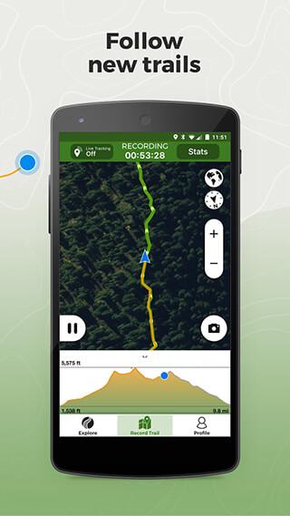 Wikiloc Outdoor Navigation GPS скриншот 3