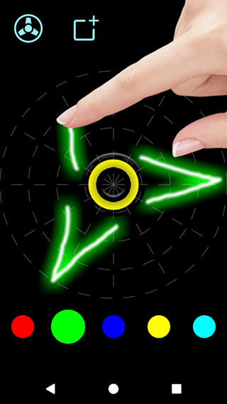 Draw and Spin: Fidget Spinner скриншот 2