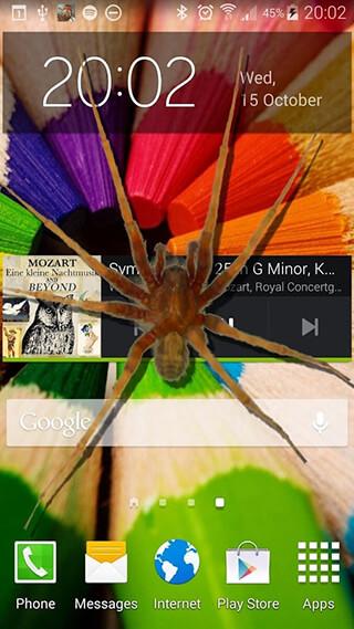 Spider in Phone Funny Joke скриншот 1