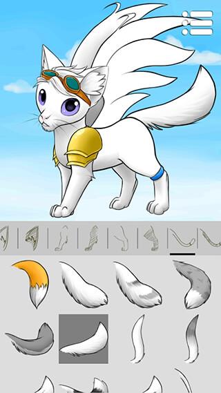Avatar Maker: Cats 2 скриншот 3