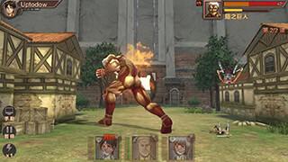 Атака титанов скриншот 1