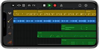 GarageBand скриншот 2