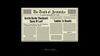 Papers, Please скриншот 2