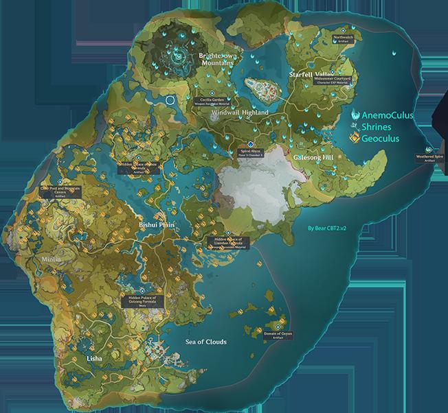 Полная карта