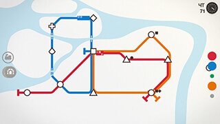 Mini Metro скриншот 1