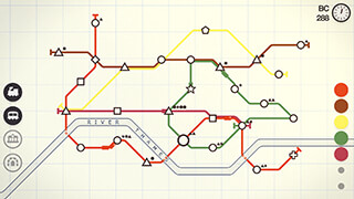 Mini Metro скриншот 2
