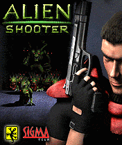 ������� �� ����� (Alien shooter)
