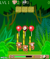 Мартышки: Логический Штурм (Monkey: Pole Climb)