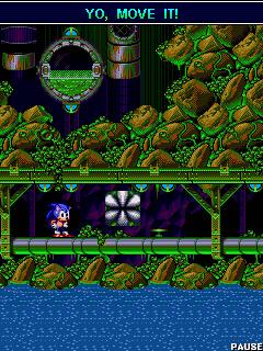 Соник: Крутящийся шар (Sonic: Spinball)