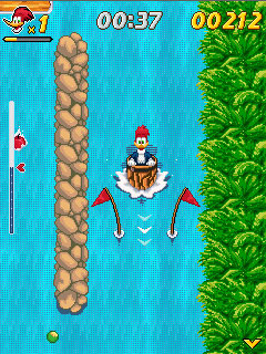 Вуди Вудпекер в водопадах (Woody Woodpecker In Waterfools)