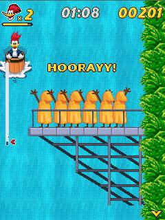 Вуди Вудпекер в водопадах (Woody Woodpecker In Waterfools)