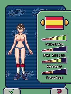 Naked Babe: Soccer