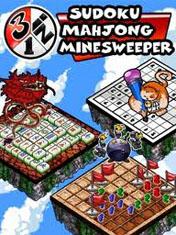 3 in 1: Sudoku, Mahjong, Minesweeper иконка