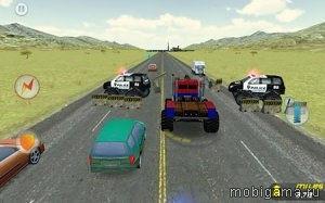 Сумасшедший монстр грузовик: Побег (Crazy Monster Truck: Escape)