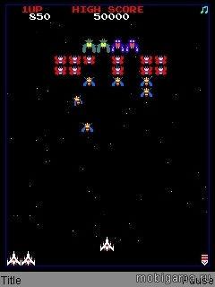 Галаксиан (Галага) (Galaxian (Galaga))