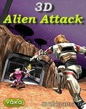 3D Alien Attack иконка