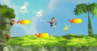 ������: ������ � �������� (Rayman: Jungle Run)