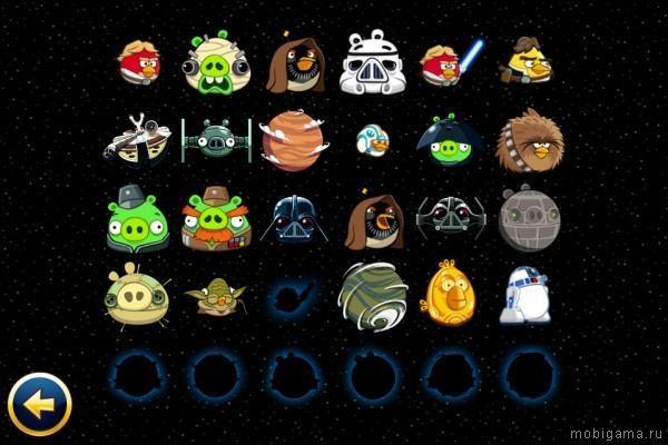 Angry Birds Star Wars на андроид - top-android.org