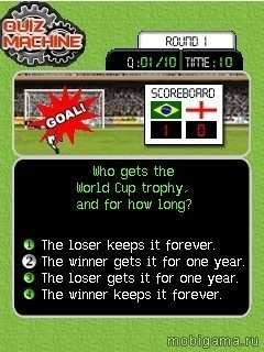 ���������: ����� ������ (Quiz Machine: Super Soccer)