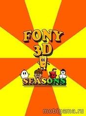Fony 3D Season иконка