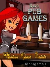 ��� ���� 3 � 1 (3 in 1 Pub Games)