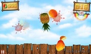 Фруктовый ниндзя против Скитлс (Fruit Ninja vs Skittles)