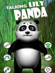 Говорящая панда Лили (Talking Lily Panda)