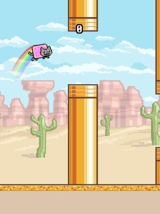 ������� ������ (Flappy Nyan)
