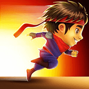 Бег молодого ниндзя (Ninja Kid Run)