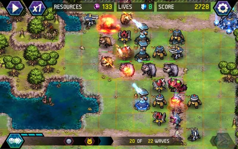 игры на андроид защита башни скачать