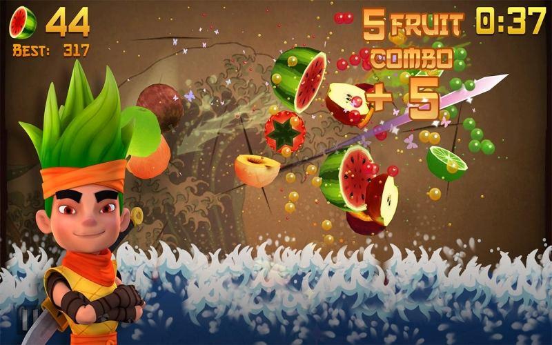 Play Ninja Slash, a free online game on Kongregate