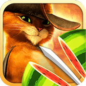 ��������� ������: ��� � ������� (Fruit Ninja: Puss in Boots)