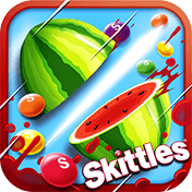 ��������� ������ ������ ������ (Fruit Ninja vs Skittles)