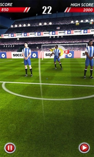 Футбольные удары (Soccer Kicks)