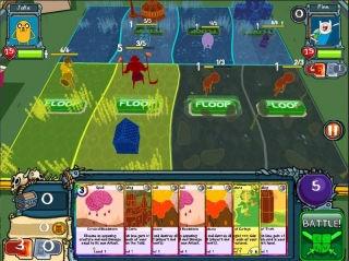 Время приключений: Карточные войны (Adventure Time: Card Wars)