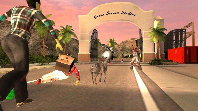 Симулятор козла зомби скачать на андроид
