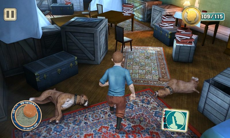 The Adventures Of Tintin - The Game (iOS And Android ...