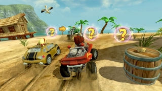 ������� ����� �� ����� (Beach Buggy: Racing)