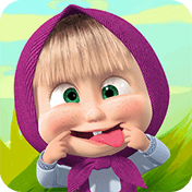 Masha and the Bear: Kids Games иконка
